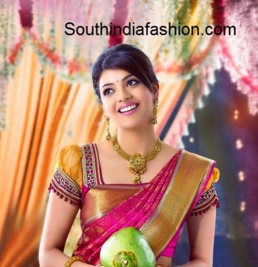 bridal+saree+blouse
