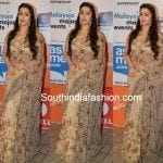 Charmee in Shilpa Reddy Saree