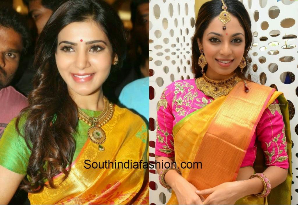 Top 10 Blouse Designs For Wedding Silk Sarees South India