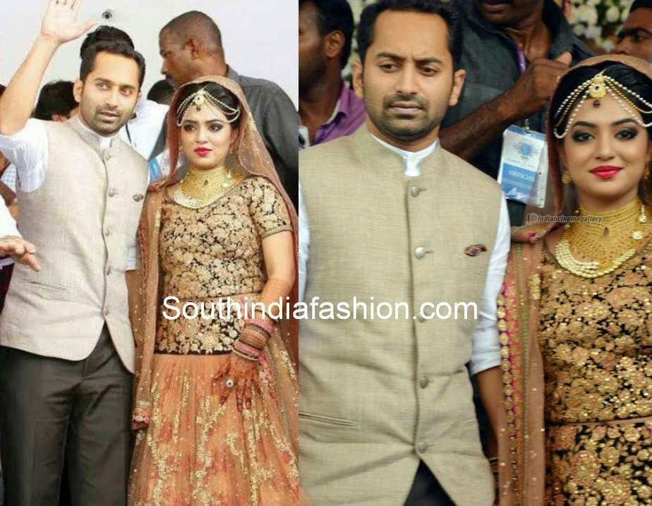 Nazriya Nazim and Fahad Fazil Wedding