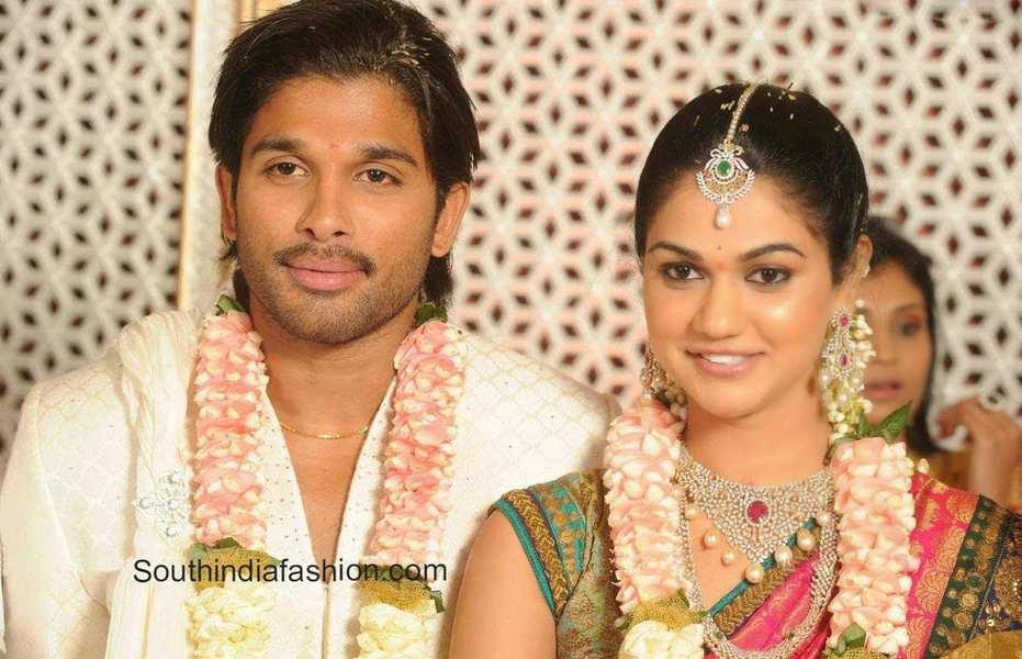 The Royal Wedding of Allu Arjun and Sneha Reddy • South India ...