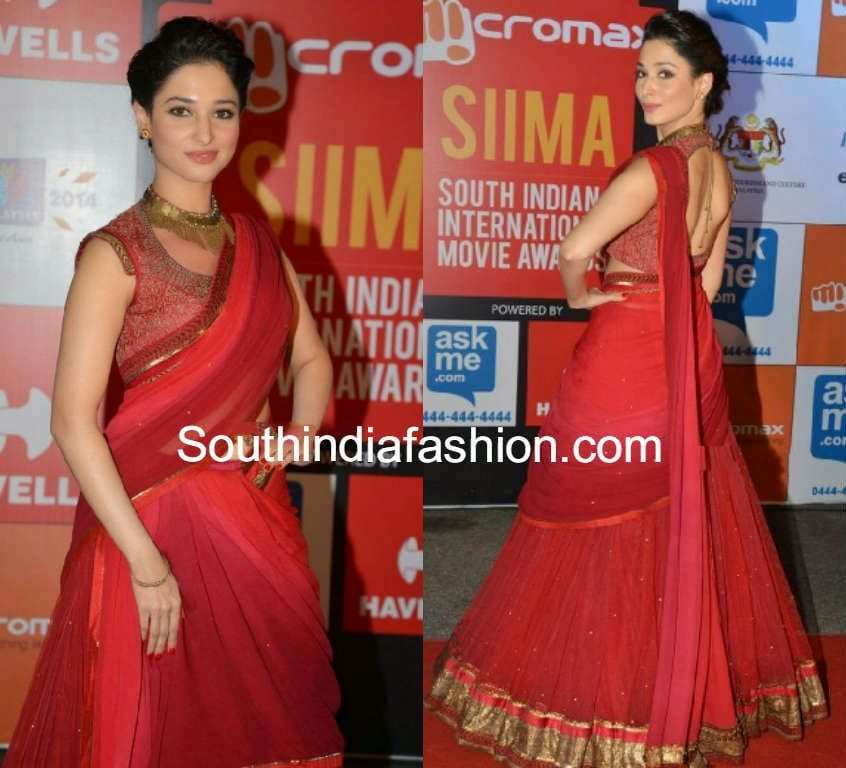 tamanna at siima awards 2014