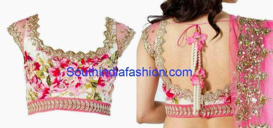 anushree reddy designer blouses