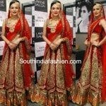 Anchal in Bridal Lehenga