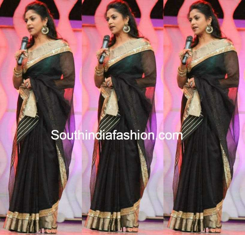 nadhiya at jfw achievers awards 2014