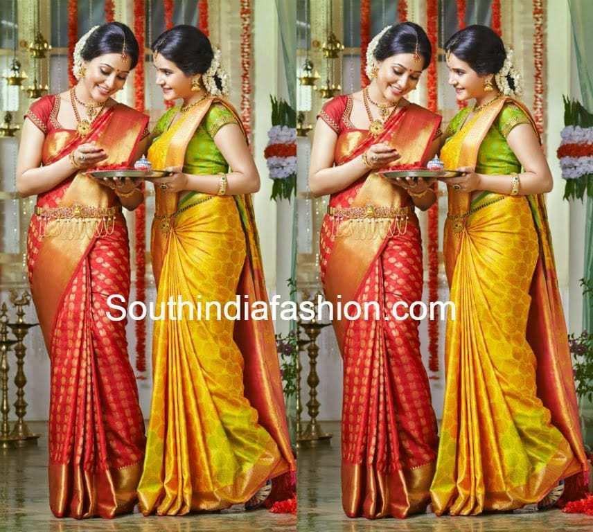Pothys Wedding Silk Sarees South India Fashion