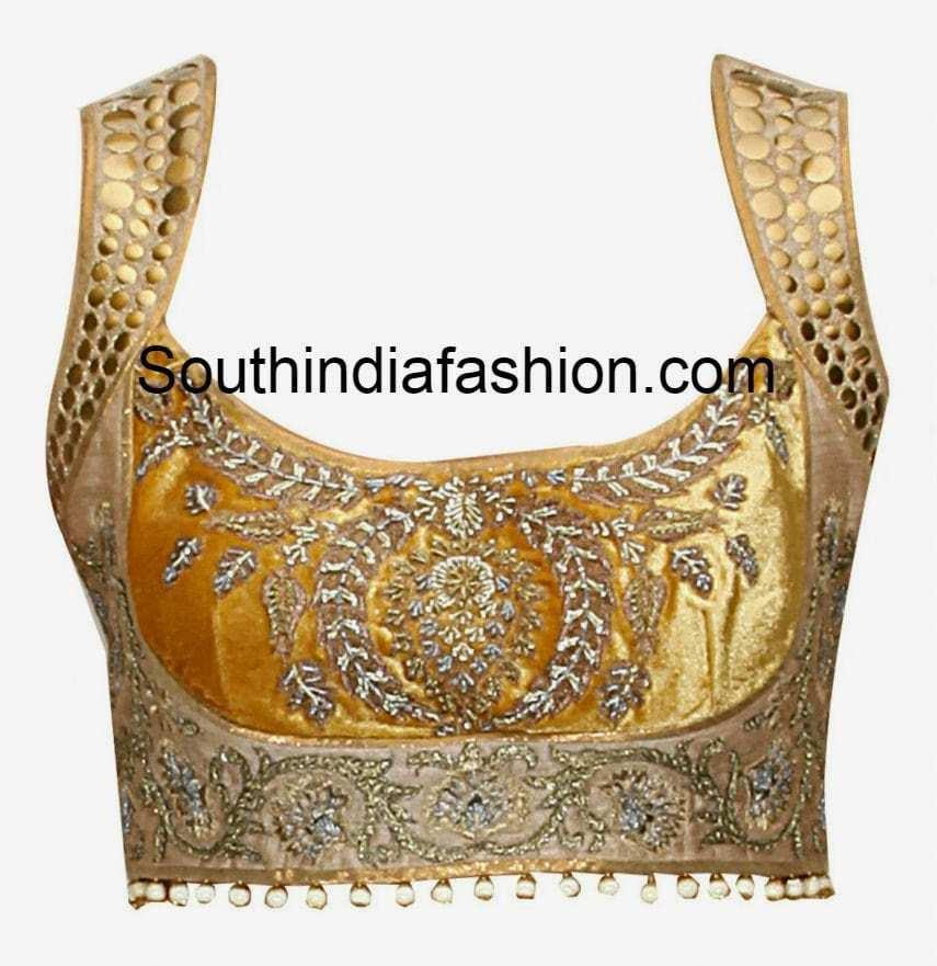 2015 saree blouse designs