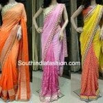 Trendy Party Wear Designer Sarees