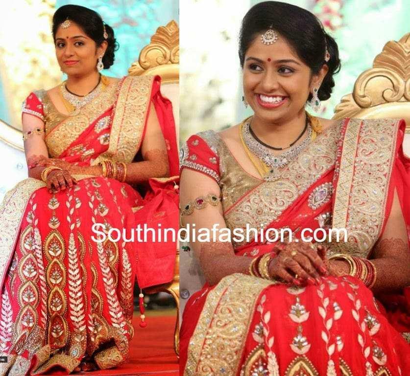 aadi and aruna wedding reception