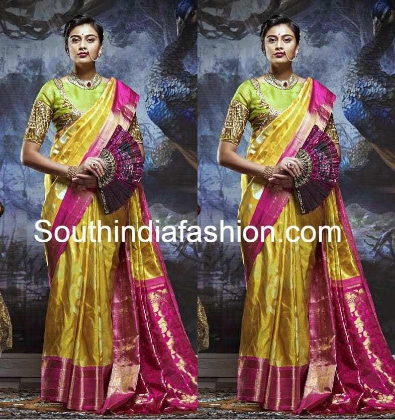 kanjeevaram wedding sarees
