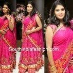 Beautiful Pink Half Saree