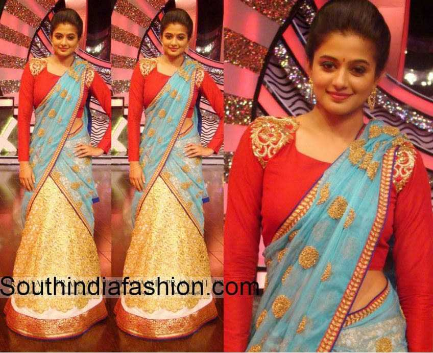 pranaah half sarees