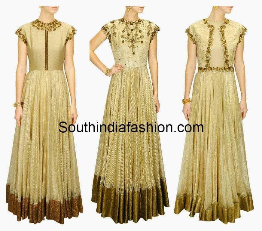pranthi reddy designer long gowns