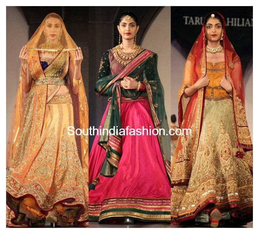 tarun tahilaini bridal collection 2015