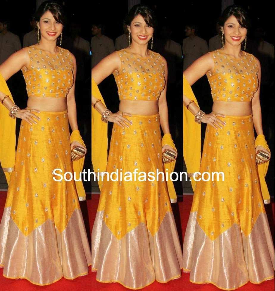 Tanishaa at Kush Sinha's Wedding Reception