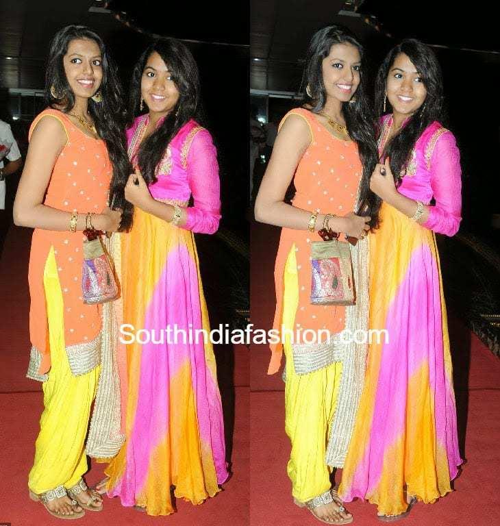 Rajasekhar Daughters At Siddarth's Engagement