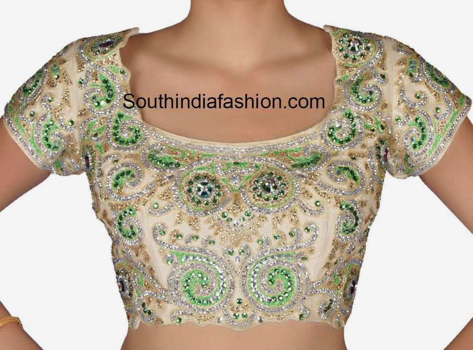 Blouse Designs Stand Collar : Latest blouse designs fashion trends page of
