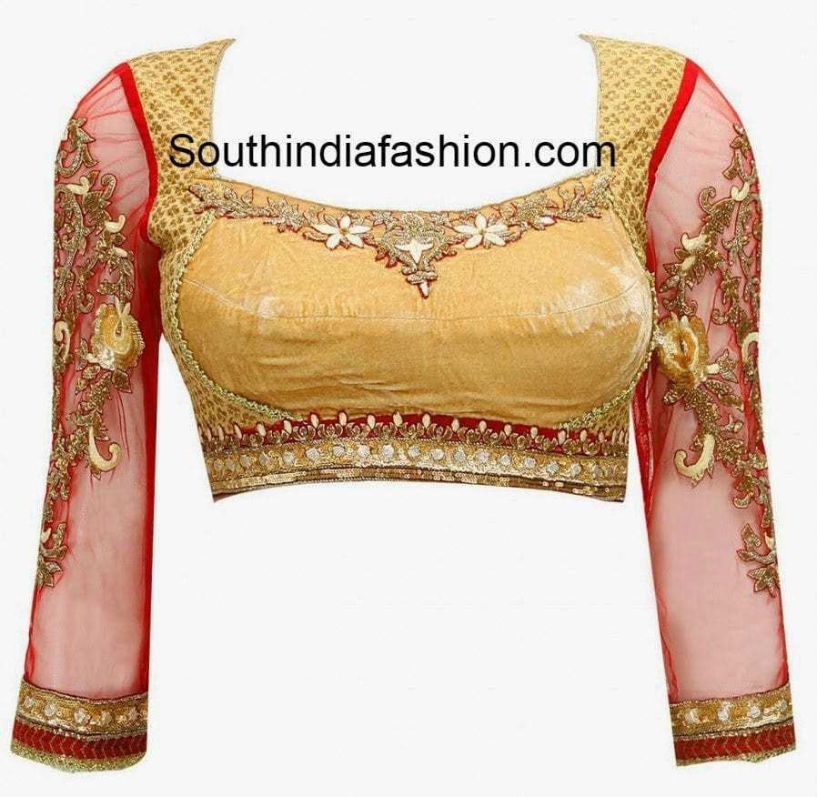 tarun tahiliani blouse designs