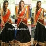 Diksha Panth in Half Saree