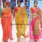 Mandira Bedi Sarees Collection at LFW 2015