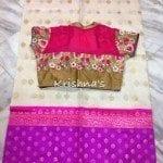 Elegant Sarees with Designer Blouses