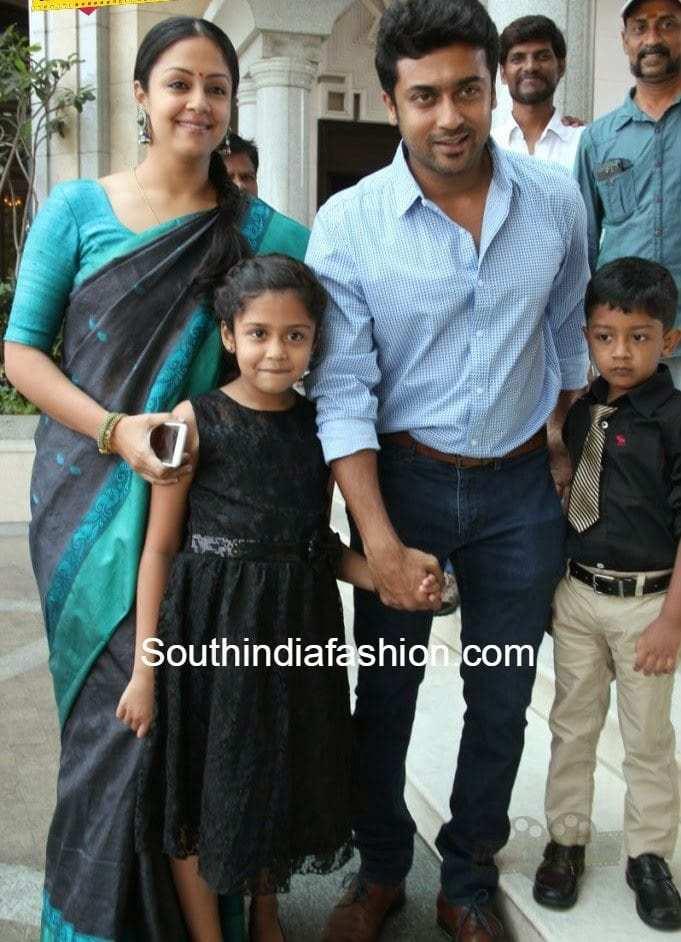 Surya Family at 36 Vayathinile Audio Launch – South India Fashion
