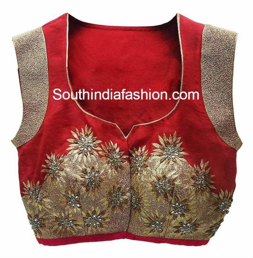latest designer blouses 2015
