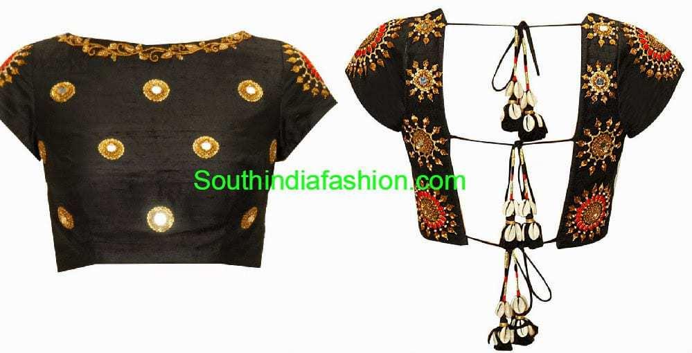 tie back dori choli designs