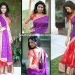 Designer Lehenga/Half Saree by Vibha