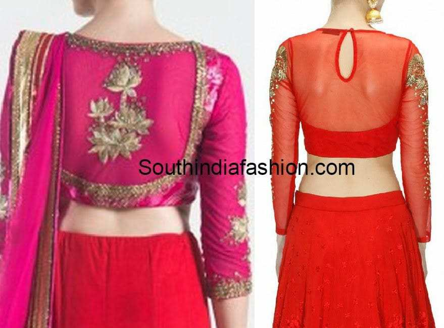 Blouse Designs In Net 94