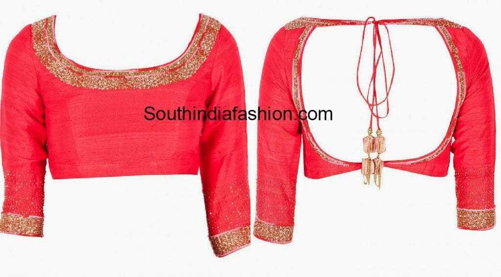backless choli designs