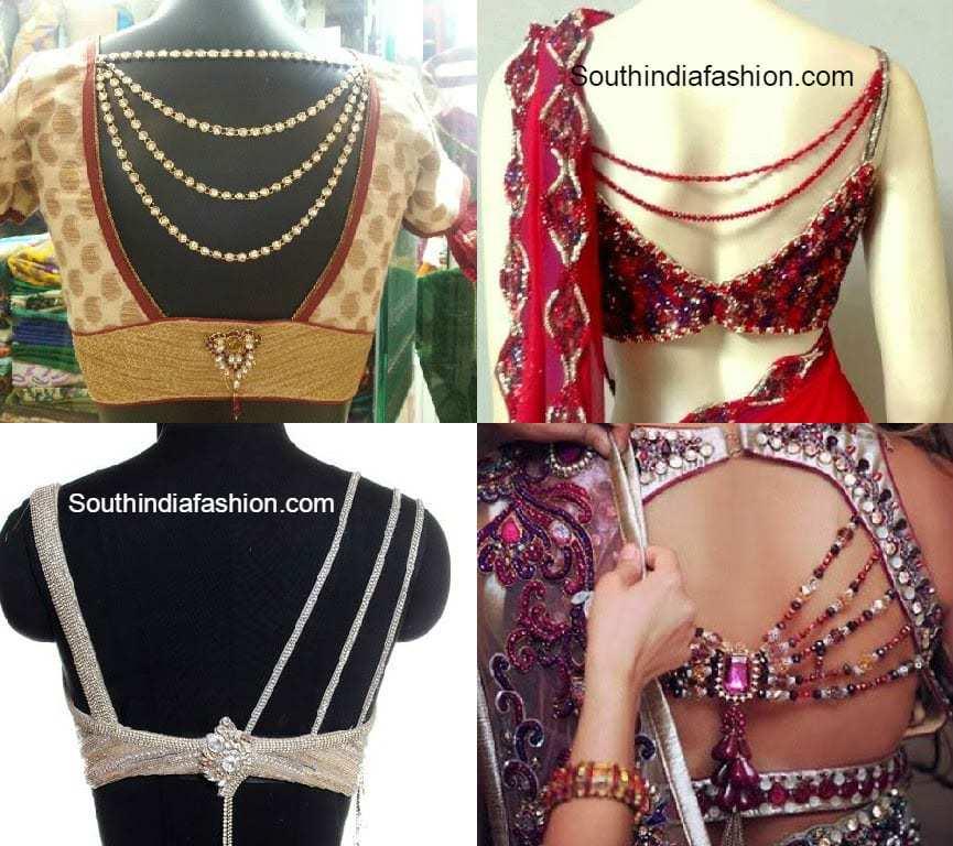 Designer saree blouses manish malhotra