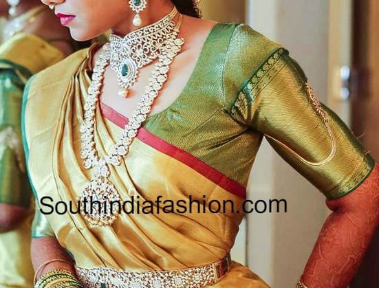 blouse patterns for silk sarees