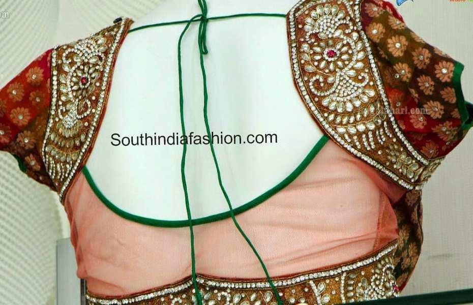 net blouse patterns