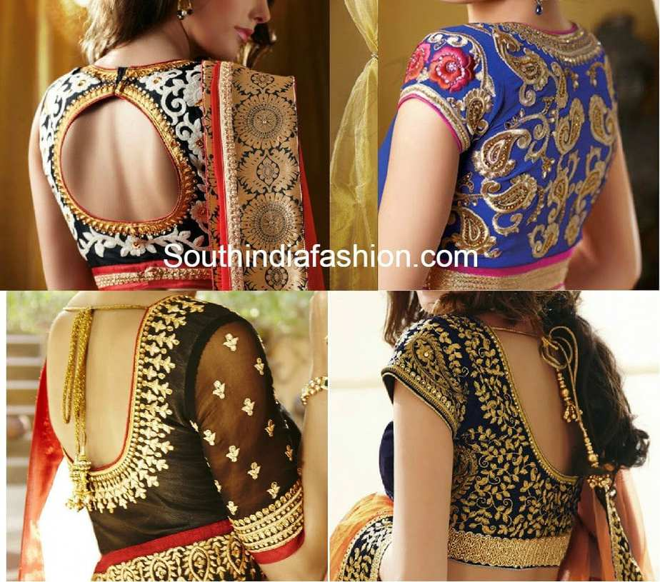 The latest blouse designs are the blouse designs with maggam work on it. Have a look at these maggam work blouse designs in pattu sarees for some major fashion inspiration! Pattu Sarees have a charm of its own and like any other saree, the blouse of a .