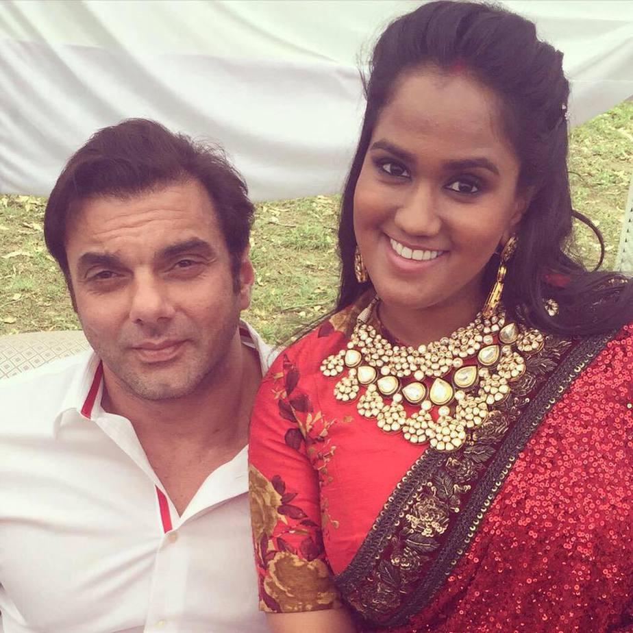 Arpita Khan In Sabyasachi Lehenga South India Fashion