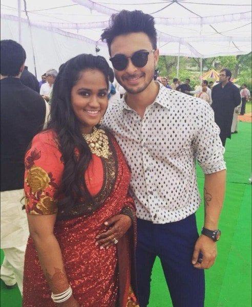 arpita khan wedding reception