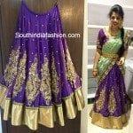 Designer Bridal Half Saree
