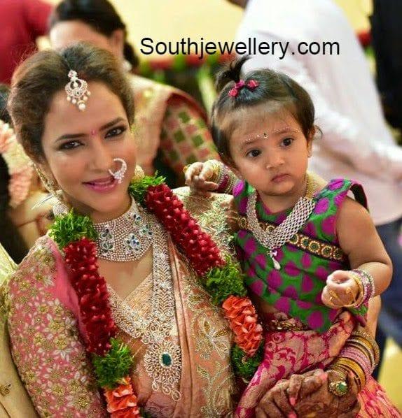 Lakshmi Manchu at manoj wedding