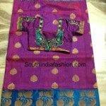 Benaras Silk Sarees with Designer Blouses