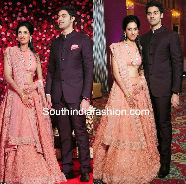 t subbarami reddy grandson rajiv reddy wedding reception