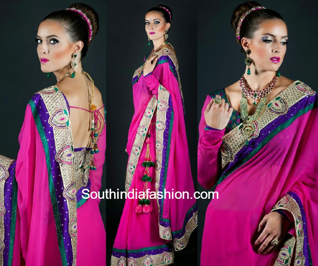 vibha designer saree