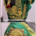 Beautiful Wedding Saree Blouse