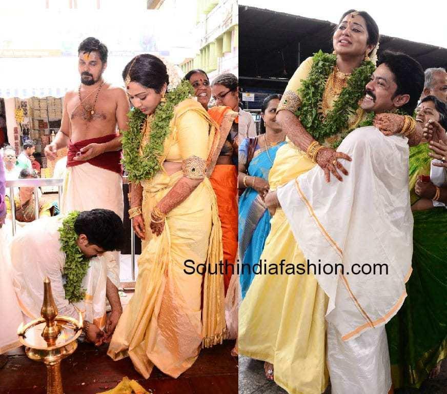 actor harish amp doctor abinaya marriage � south india fashion