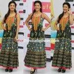 Shruti Haasan in Maxi Dress