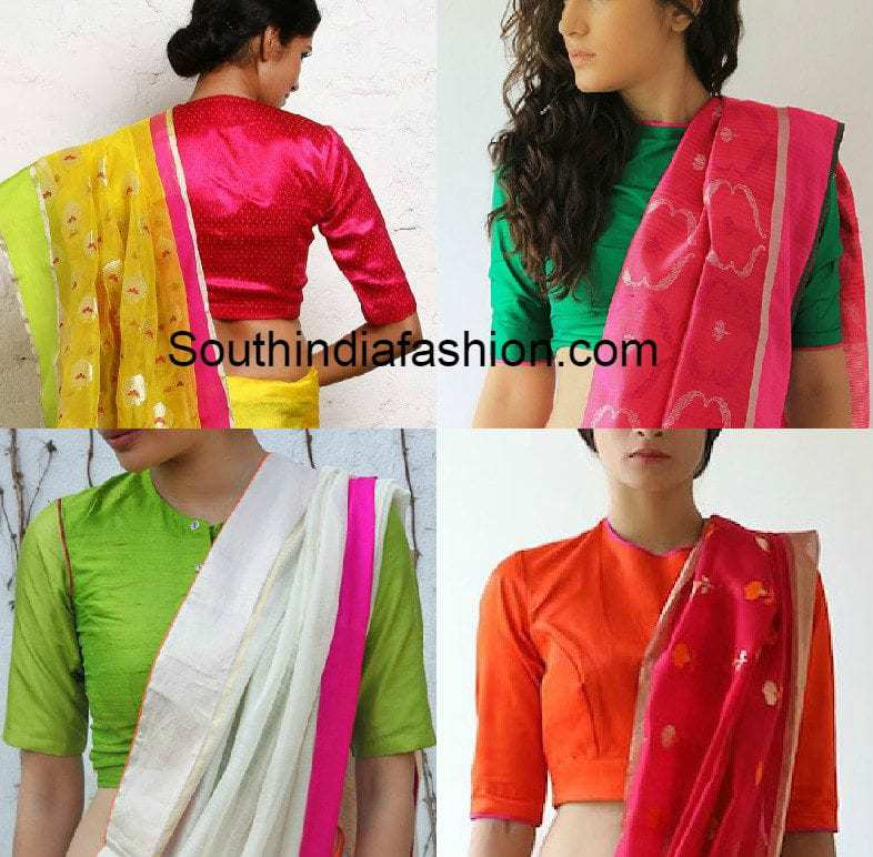 blouse_designs_for_office_wear_sarees