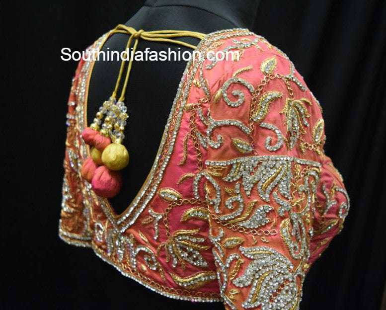 gorgeous designer blouses for wedding silk sarees � south