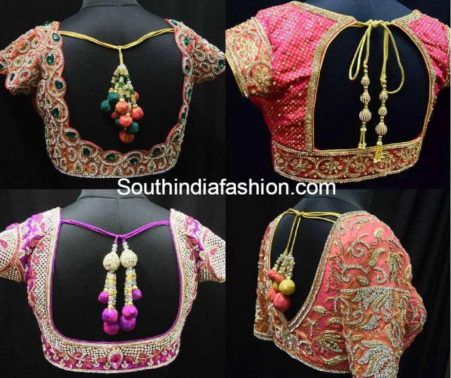blouse_designs_for_wedding_sarees