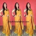Charmme in Ishita Singh Saree