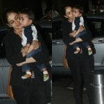 Riteish, Genelia and Riaan Spotted at the Airport